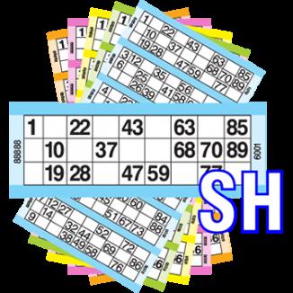 Housie cards Singles 3000