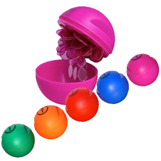 Housie Chips magnetic ball